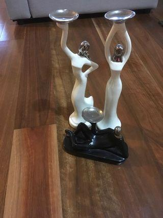 Candle holders, Jewelery stand