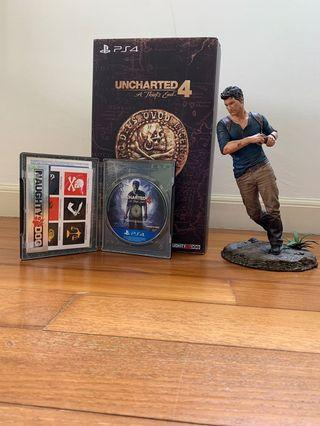 Uncharted 4-A thief's end PS4 collector edition