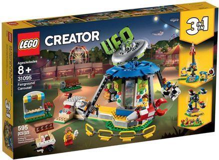 LEGO Creator 31095 Fairground Carousel 遊樂場 旋轉木馬 同系列 31096 31097 31098 31085 31084 31086