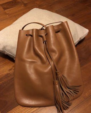 bucks&leather束口包(11/1-11/11特價)