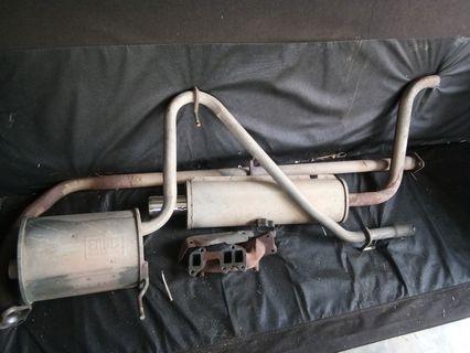 Exhaust standard kancil