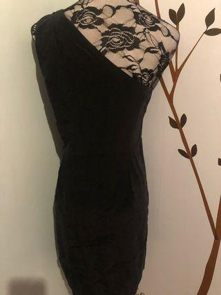 NEW off-shoulder Black Dress