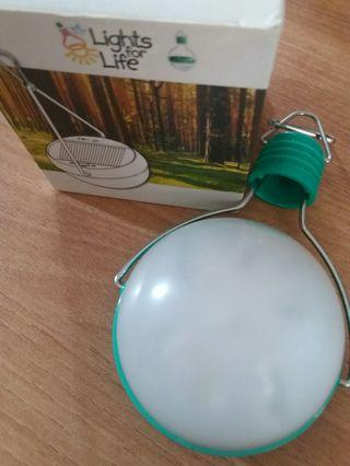 Solar Lighting for outing or camping
