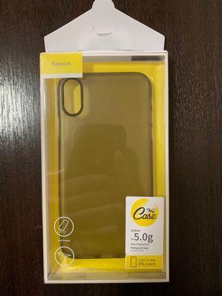 🚚 IPhone XR Baseus Slim Case