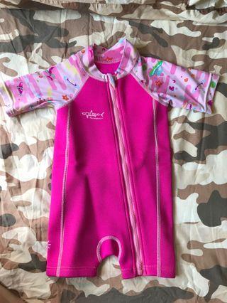 Aquasport 女童保暖泳衣