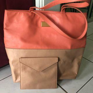 Charles & Keith Bag + pouch