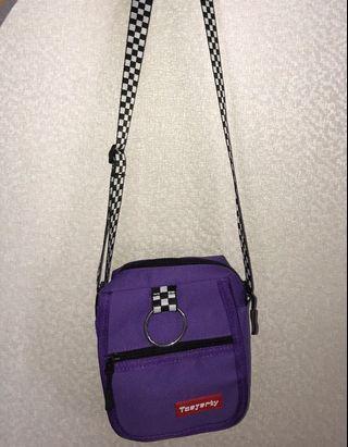 Ulzzang Purple Sling Bag