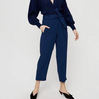 Aritzia Wilfred Tie-Front Pant size )