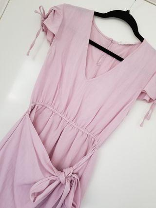Dazie blush pink mini dress size 10