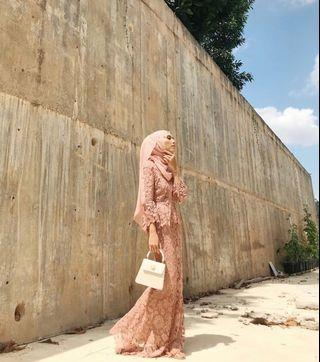 Rent - Lubna Flare Sleeves Lace Kebaya