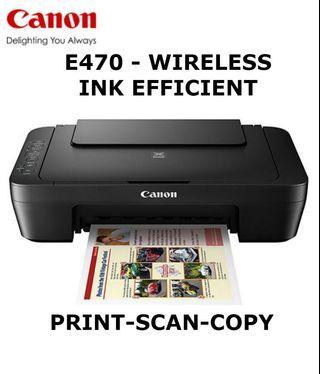Canon Printer E470