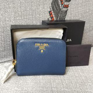 🈹🆕Prada  散子包 Coin Purse 卡片套 Card Holder Saffiano Leather