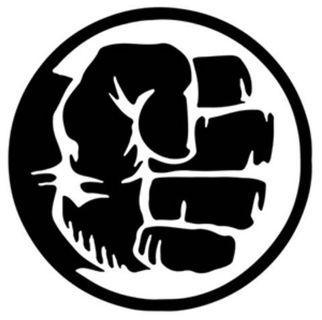 Hulk Logo [Car Decal / Sticker Vinyl] (Free Mailing!)