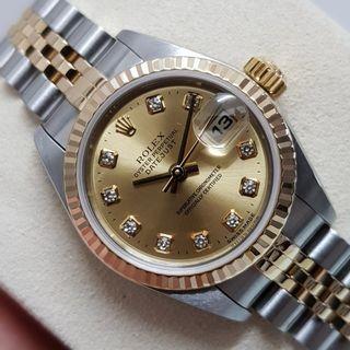 Rolex Ladies Datejust full mint set (serviced with warranty)