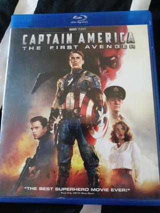 Captain america the first avenger blu-ray movie