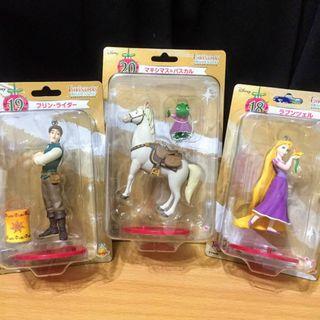 3款 日本 迪士尼 Disney 絕版 公仔 魔髮奇緣 Tangled 一番賞 皮克斯 吊飾 玩具 Pixar