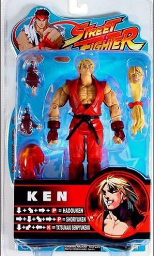 🚚 Street Fighter Round 2 Ken Sota Vintage