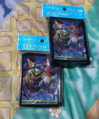 🚚 Pokémon card sleeves from Japan Pokémon center