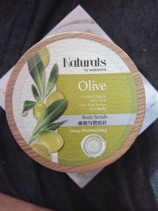 🚚 NATURALS <即期品> 橄欖身體磨砂乳