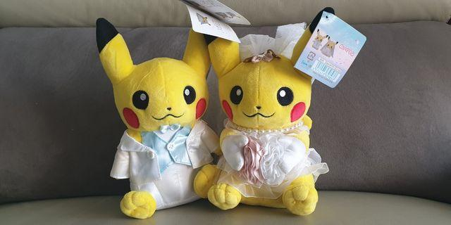🚚 Pikachu Wedding Plushie
