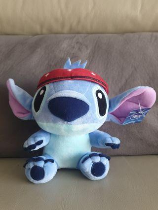 🚚 Sporty Stitch Soft Toy