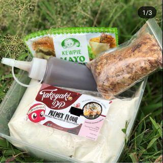 DIY Homemade Takoyaki Set Lengkap 80 - 100 biji