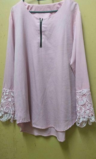 Blouse Pink Free Size #Rayathon50
