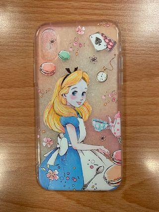iPhone XS Case / Cover - Disney Alice in Wonderland