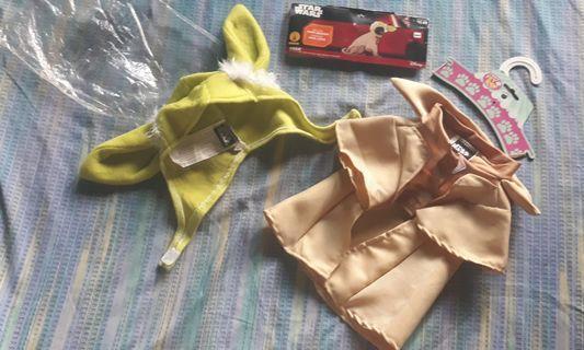 Star Wars (Yoda) dog costume (free shipping)