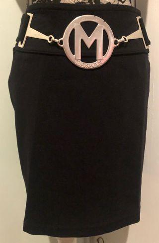 MORGAN Black Skirt
