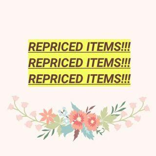 CHECK MY REPRICED ITEMS