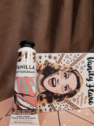 "Vanilla butter cream "" hand cream """