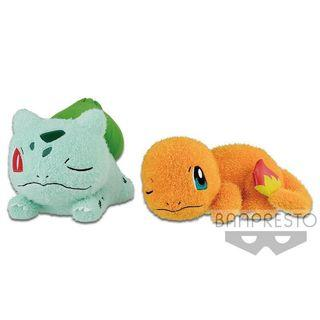 🍃 Relaxing Time Special Pokemon Plushy: Bulbasaur & Charmander 🔥