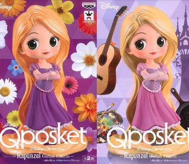 👑 Disney - Rapunzel Girlish Charm Q Posket Figure 👑