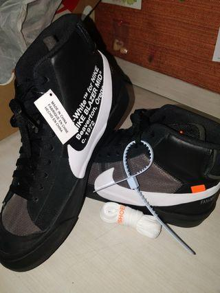 🔥OFF WHITE x Nike Blazers- Grim Reapers (DS, US 9.5)🔥