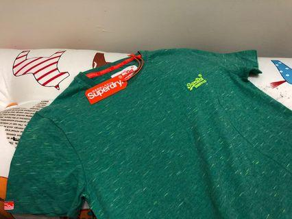 全新未拆封 極度乾燥 Superdry T shirt (size: s)
