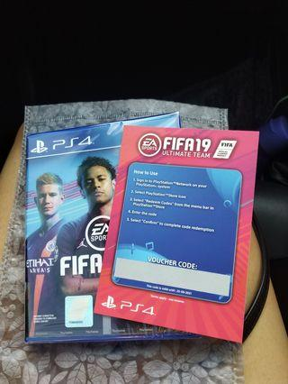 PS4 FIFA 19 New And Sealed !!!