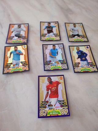 Match Attax Limited Edition Cards 2017-2018