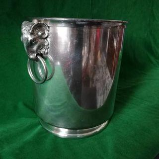 Vintage Silverware Ice Bucket