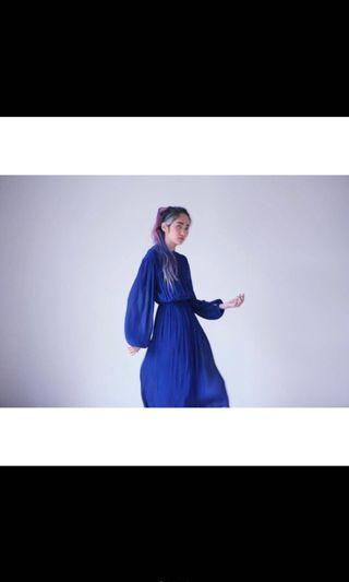 🚚 A room model 購入 古著洋裝 百摺