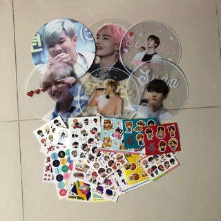 (SELLING/CLEARING) bts grab bags clearance !!