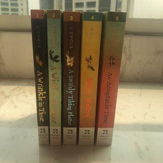 (English Version) 5 Book Series: A Wrinkle in Time