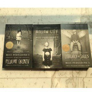 (English Version) 3 book Series: Miss Peregrine's Home for Peculiar children