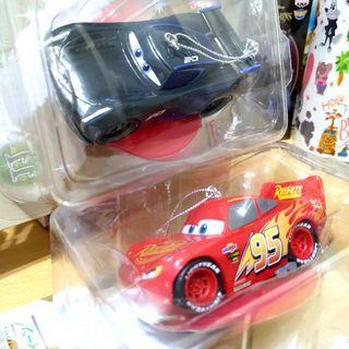 🚚 2款 日本 迪士尼 Disney 絕版 公仔 汽車總動員 cars 閃電麥坤 皮克斯 一番賞 玩具 Pixar