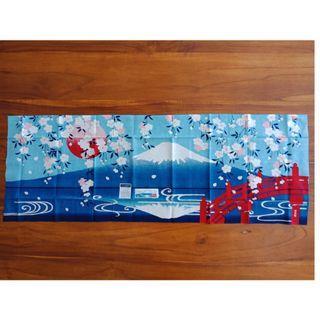 Mt Fuji Print Cloth