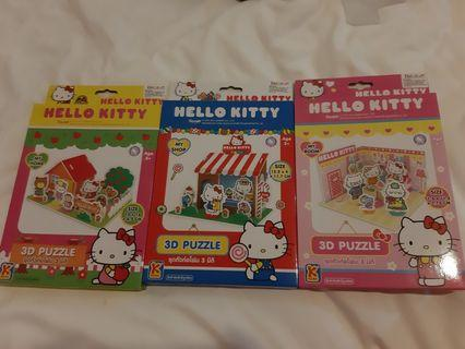 3D Puzzle Hello Kitty Import