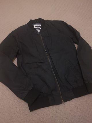 JayJays Black Bomber Jacket