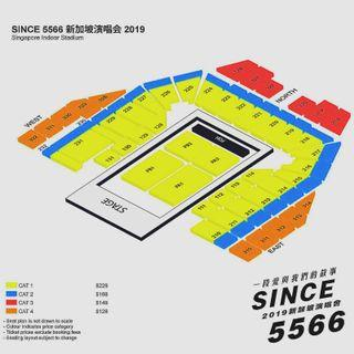 WTS 5566 concert tickets 06 July 19