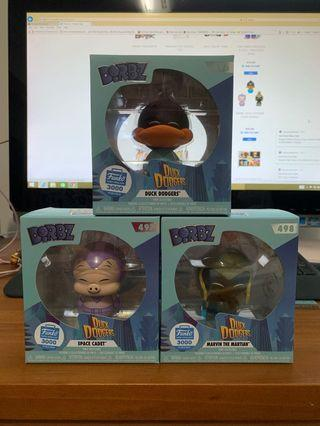 Funko Dorbz : DUCK DODGERS 3 pack bundle