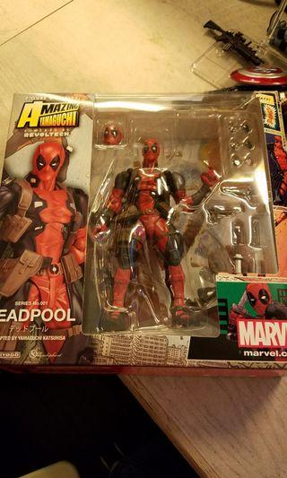 中古 海洋堂 死侍 marvel legends deadpool